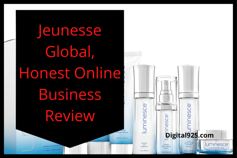 Jeunesse Global, Honest Online Business Review